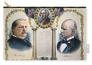 Presidential Campaign, 1892 Carry-all Pouch