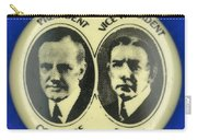Presidential Campaign, 1924 Carry-all Pouch