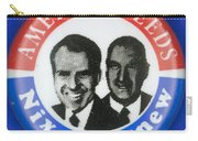 Presidential Campaign:1972 Carry-all Pouch by Granger