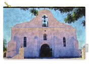 Presido Chapel San Elizario Texas Carry-all Pouch
