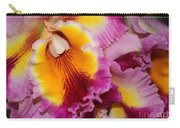 Pretty And Colorful Orchids Carry-all Pouch