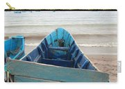 Pretty Blue Boat Carry-all Pouch