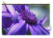 Pretty In Pericallis Carry-all Pouch by Rory Sagner