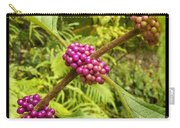 Pretty In Pink Berrys Carry-all Pouch