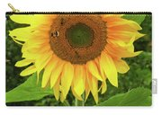 Pretty Sunflower  Carry-all Pouch