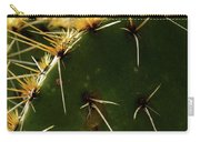 Prickly Pear Dangerous Beauty - Greeting Card Carry-all Pouch
