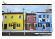Primary Colors In Burano Italy Carry-all Pouch