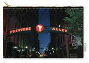 Printers Alley In Nashville Carry-all Pouch