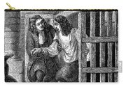 Prison: Cage, 17th Century Carry-all Pouch
