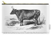 Prize Devon Cow, 1855 Carry-all Pouch