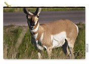 Pronghorn Male Custer State Park Black Hills South Dakota -2 Carry-all Pouch