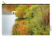 Prosser Autumn Docks Carry-all Pouch by Carol Groenen