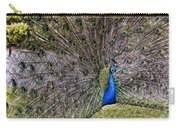 Proud Peacock At Leeds Castle Carry-all Pouch