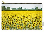 Provencial Sunflowers Carry-all Pouch