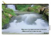 Psalm 51 2 Carry-all Pouch by Kristin Elmquist