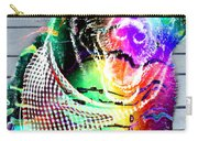 Psychedelic Black Lab With Kerchief Carry-all Pouch