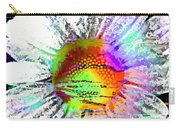Psychedelic Daisy Carry-all Pouch
