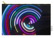 Psychedelic Hula Hoop Carry-all Pouch by Ilan Rosen