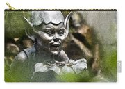 Puck In The Garden Carry-all Pouch by Heiko Koehrer-Wagner