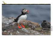 Puffin With Sand Eels Carry-all Pouch