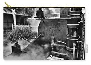 Puffing Billy Black And White V2 Carry-all Pouch