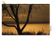 Pugent Sound Silhouetted Tree Carry-all Pouch
