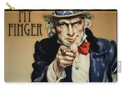 Pull My Finger Poster Carry-all Pouch
