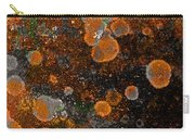 Pumpkin Abstract Square Carry-all Pouch