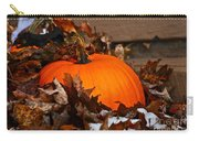 Pumpkin In Hiding Carry-all Pouch