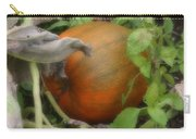 Pumpkin On The Vine Carry-all Pouch