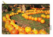 Pumpkin Patch Path Carry-all Pouch by Carol Groenen