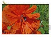 Pumpkin Poppy Carry-all Pouch