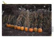 Pumpkins And Cornstalks Carry-all Pouch