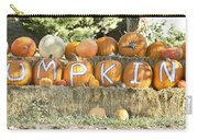 Pumpkins P U M P K I N S Carry-all Pouch