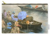 Punts On The Wey At Brooklands Carry-all Pouch