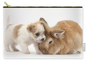 Pup And Rabbit Carry-all Pouch