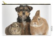 Pup, Guinea Pig And Rabbit Carry-all Pouch