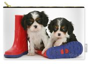Puppies With Rain Boats Carry-all Pouch