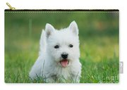 Puppy West Highland White Terrier Carry-all Pouch