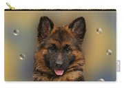 Puppy With Bubbles Carry-all Pouch