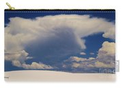 Pure White Sand And Mountain Storms Carry-all Pouch