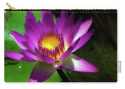 Purple And Gold Three Carry-all Pouch