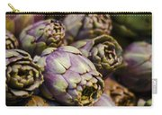 Purple Artichokes At The Market Carry-all Pouch