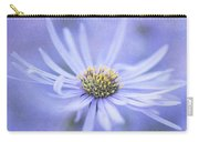 Purple Aster Flower Carry-all Pouch
