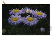 Purple Asters Carry-all Pouch