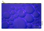 Purple Bubbles Carry-all Pouch