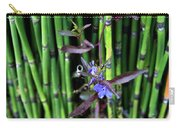 Blue Bursts From Bamboo Carry-all Pouch