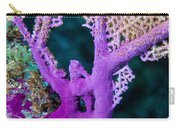 Purple Coral Carry-all Pouch