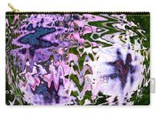 Purple Daisies World - Abstract Art Carry-all Pouch