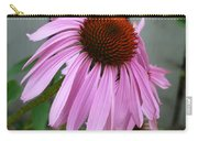 Purple Echinacea Carry-all Pouch